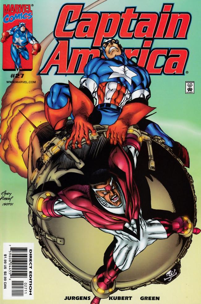 Couverture de Captain America (1998) -27- Twisted tomorrows part 3