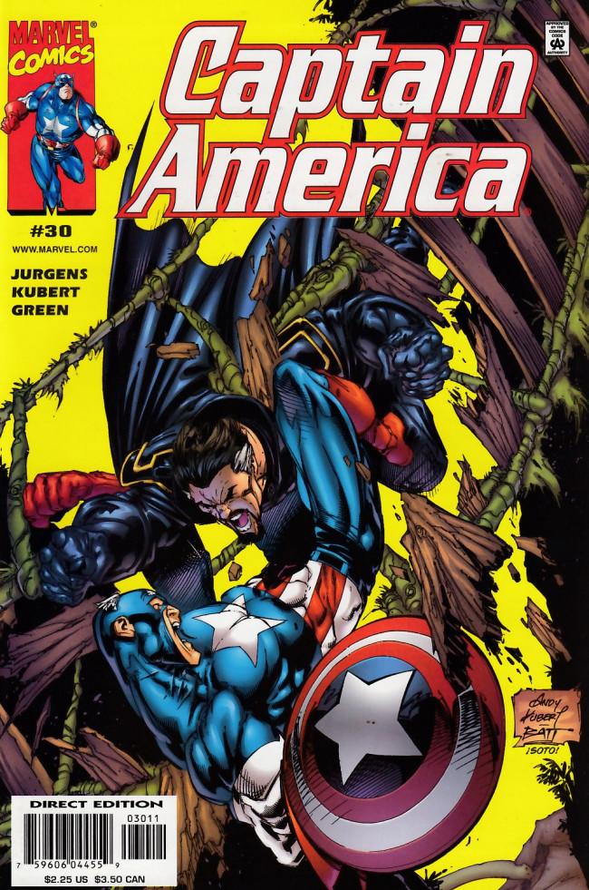 Couverture de Captain America (1998) -30- Waste of dreams