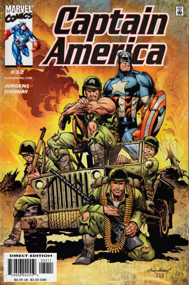 Couverture de Captain America (1998) -32- Heart