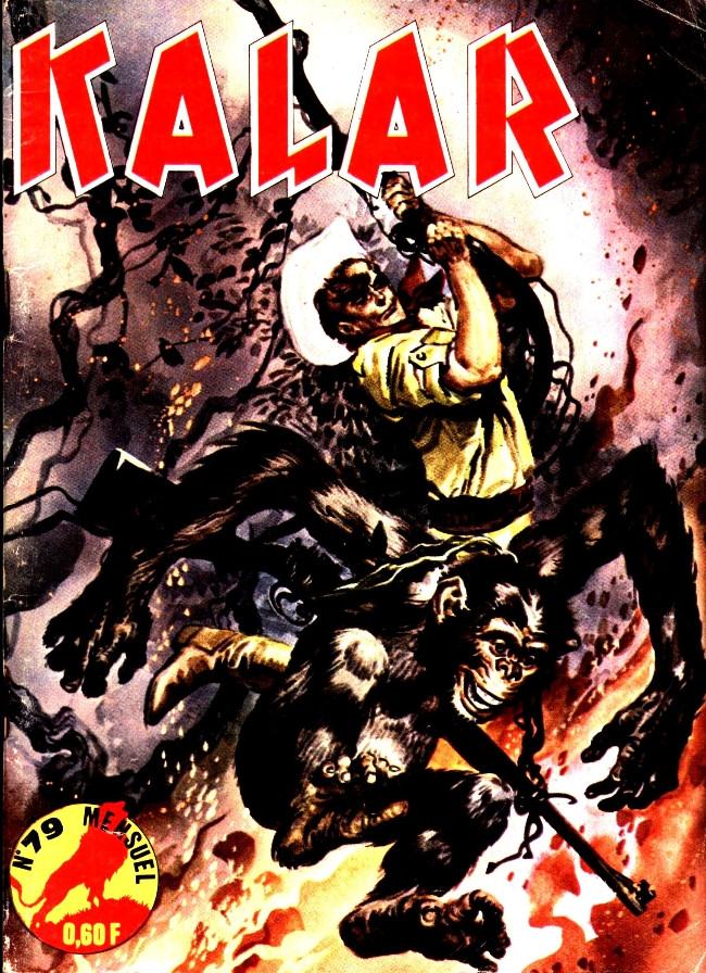 Couverture de Kalar -79- Provocation