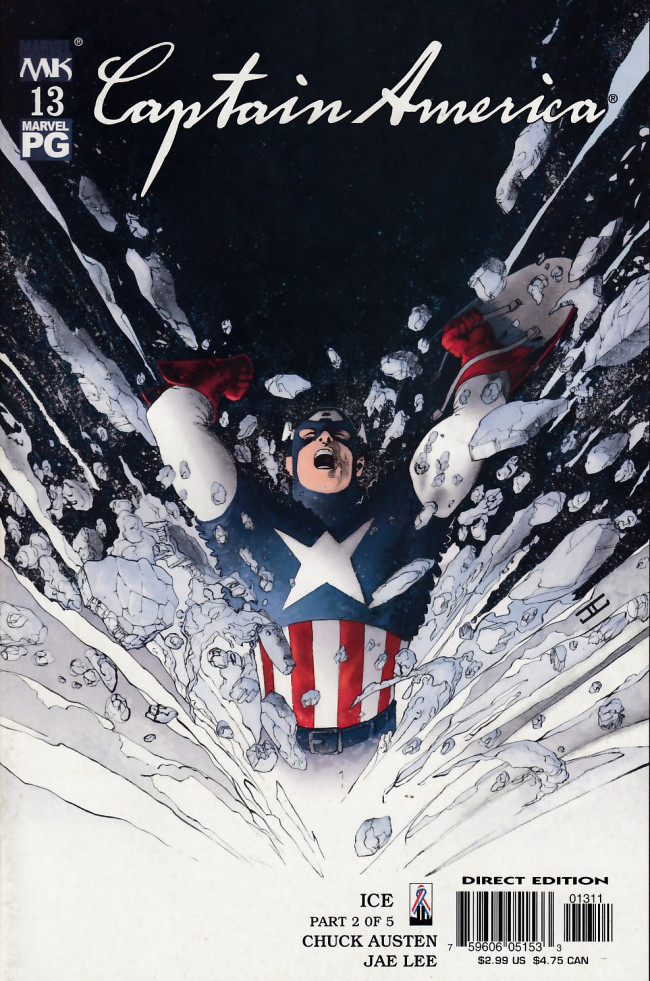 Couverture de Captain America (2002) -13- Ice part 2 of 5