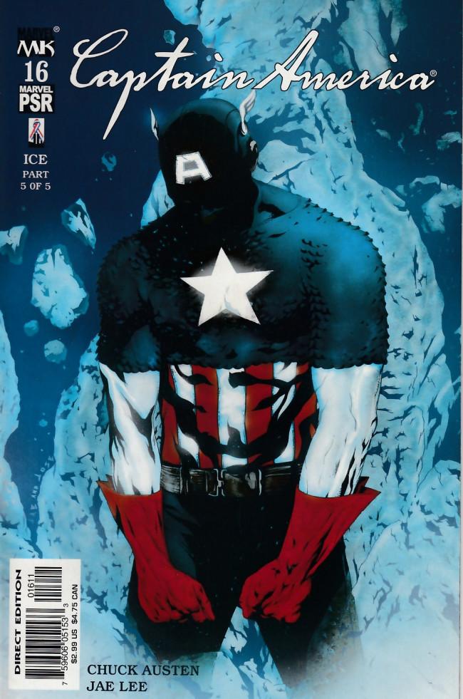 Couverture de Captain America (2002) -16- Ice part 5 of 5