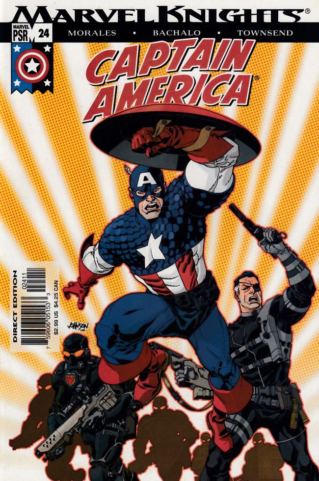 Couverture de Captain America (2002) -24- Homeland part 4
