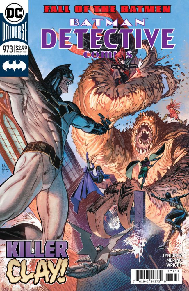 Couverture de Detective Comics (1937), période Rebirth (2016) -973- Fall of the Batmen - Finale
