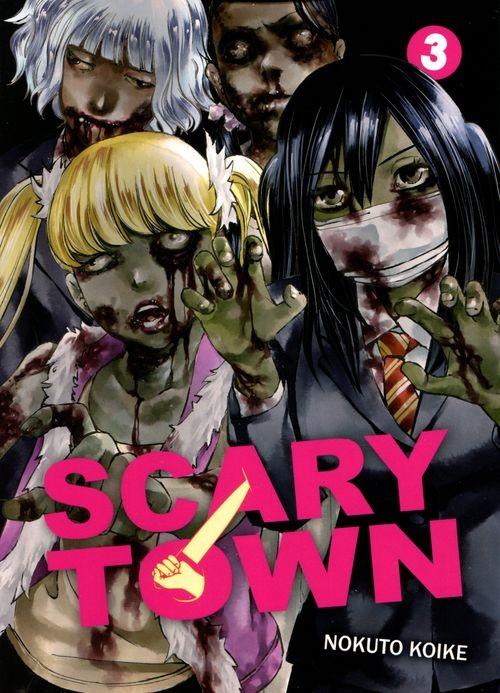 Couverture de Scary town -3- Volume 3
