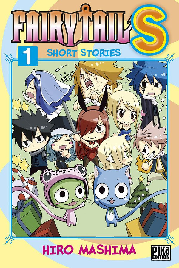Couverture de Fairy Tail S - short stories -1- Tome 1