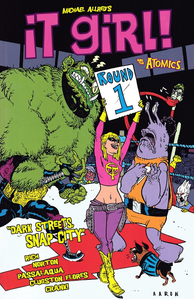 Couverture de It Girl! and The Atomics -INT01- Round 1: Dark Streets, Snap City
