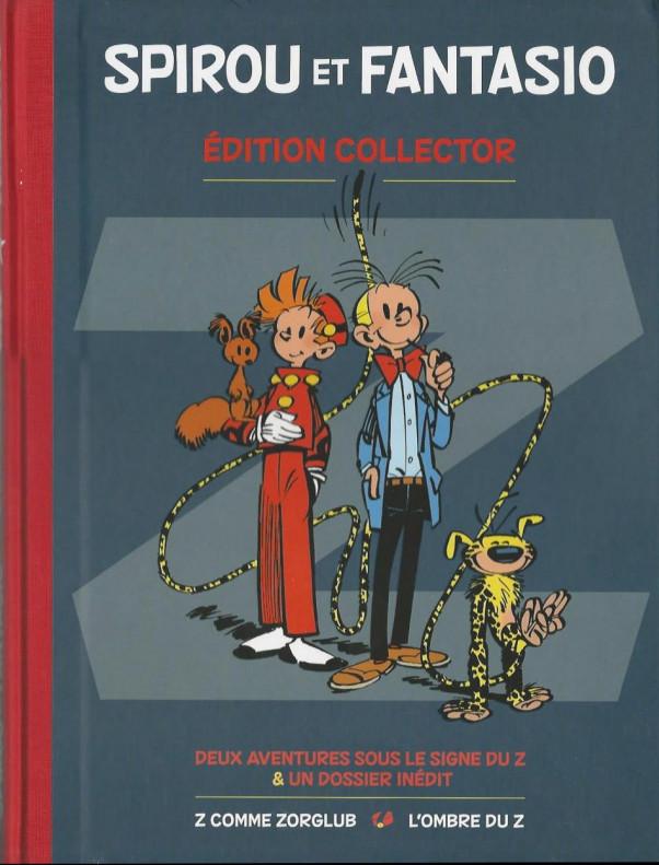 Couverture de Spirou et Fantasio -2- (Divers) -PM- Deux aventures sous le signe du z