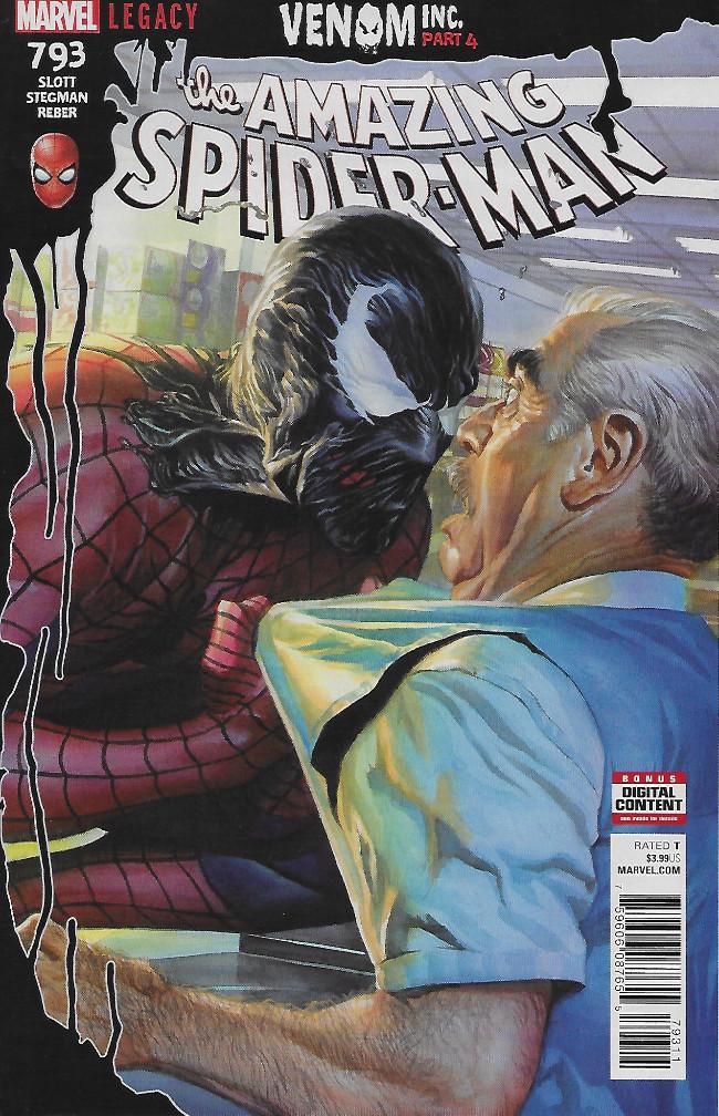 Couverture de Amazing Spider-Man (The) (Marvel Legacy - 2017) -793- Venom INC. Part Four