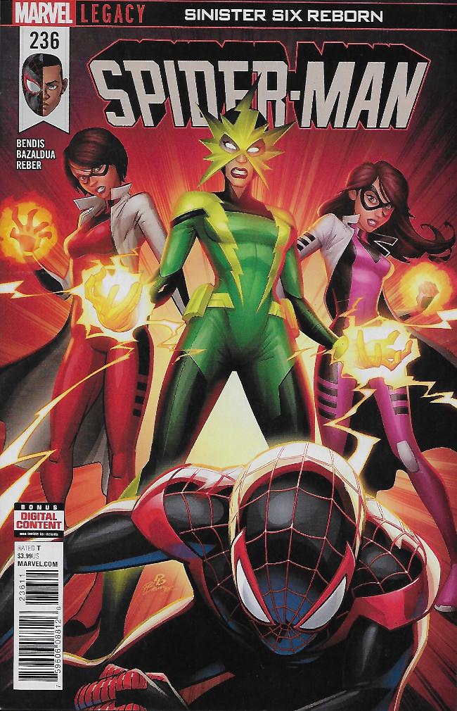 Couverture de Spider-man (2016) -236- Sinister Six Reborn Part 3