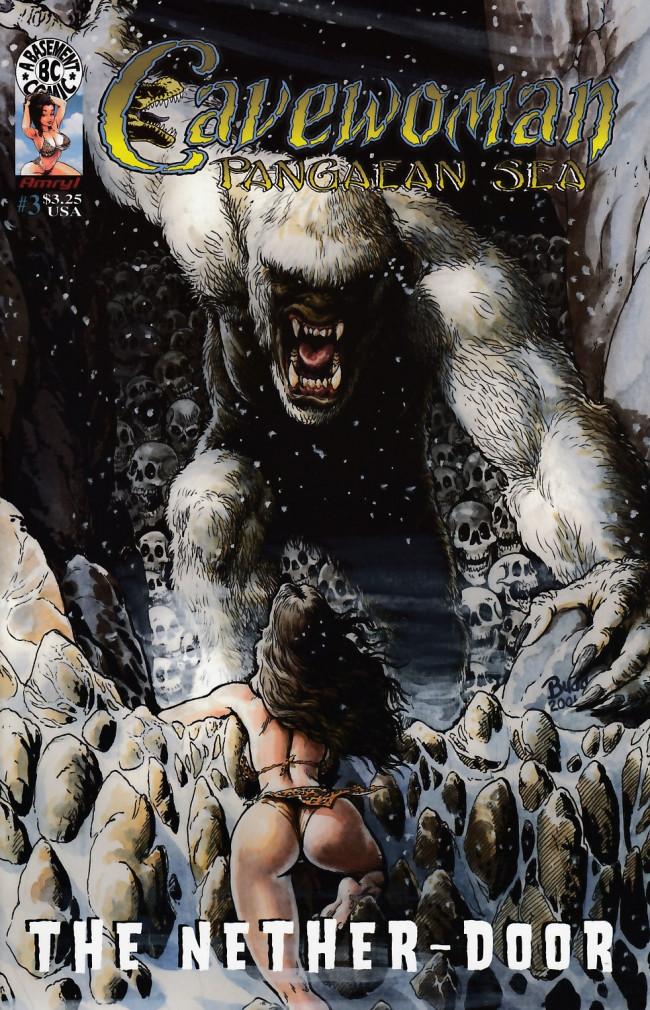 Couverture de Cavewoman: Pangaean sea (1999) -3- Cavewoman: Pangaean sea #3