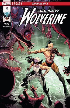 Couverture de All-New Wolverine (2016) -30- Orphans of X: Part 6