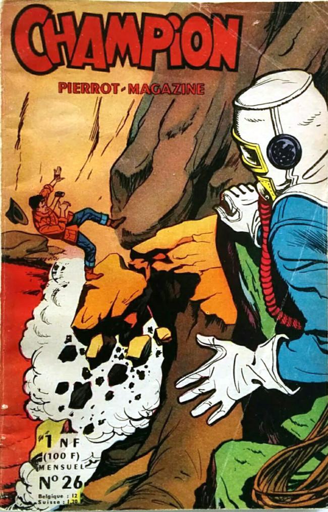 Couverture de CHAMPION Pierrot-Magazine -26- Une chaude affaire !