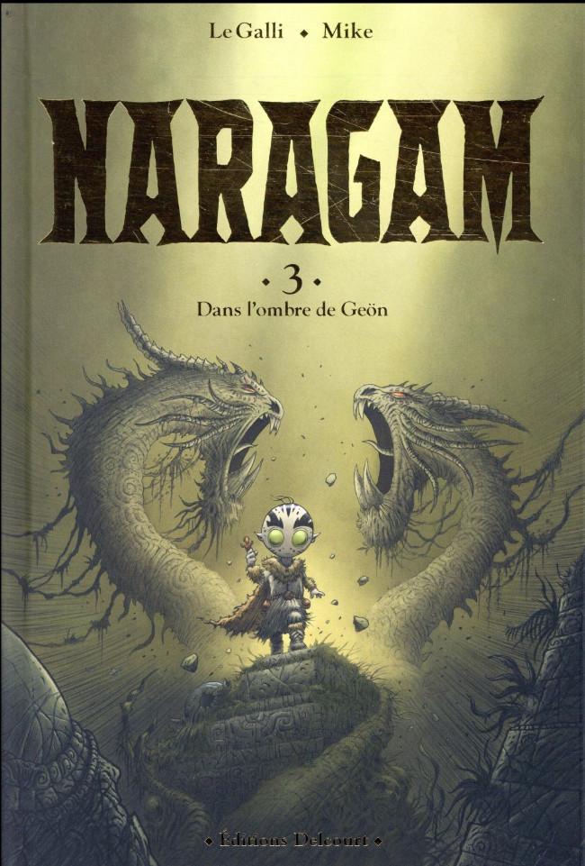 Couverture de Naragam -3- Dans l'ombre de Geön