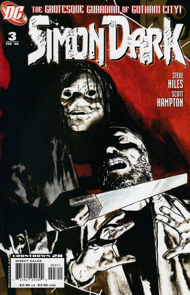 Couverture de Simon Dark (2007) -3- Dead boys dream