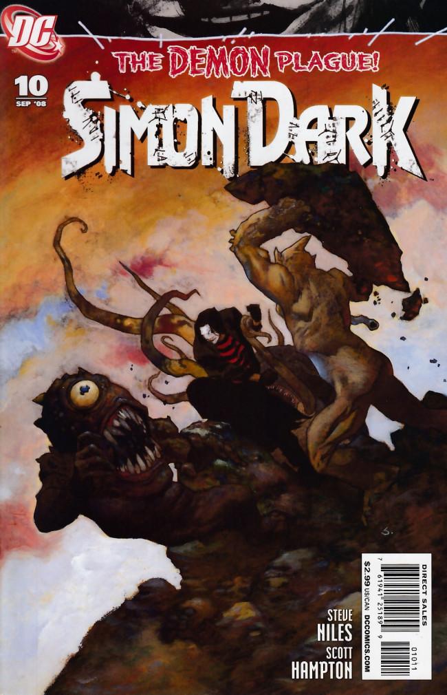 Couverture de Simon Dark (2007) -10- We all fall down