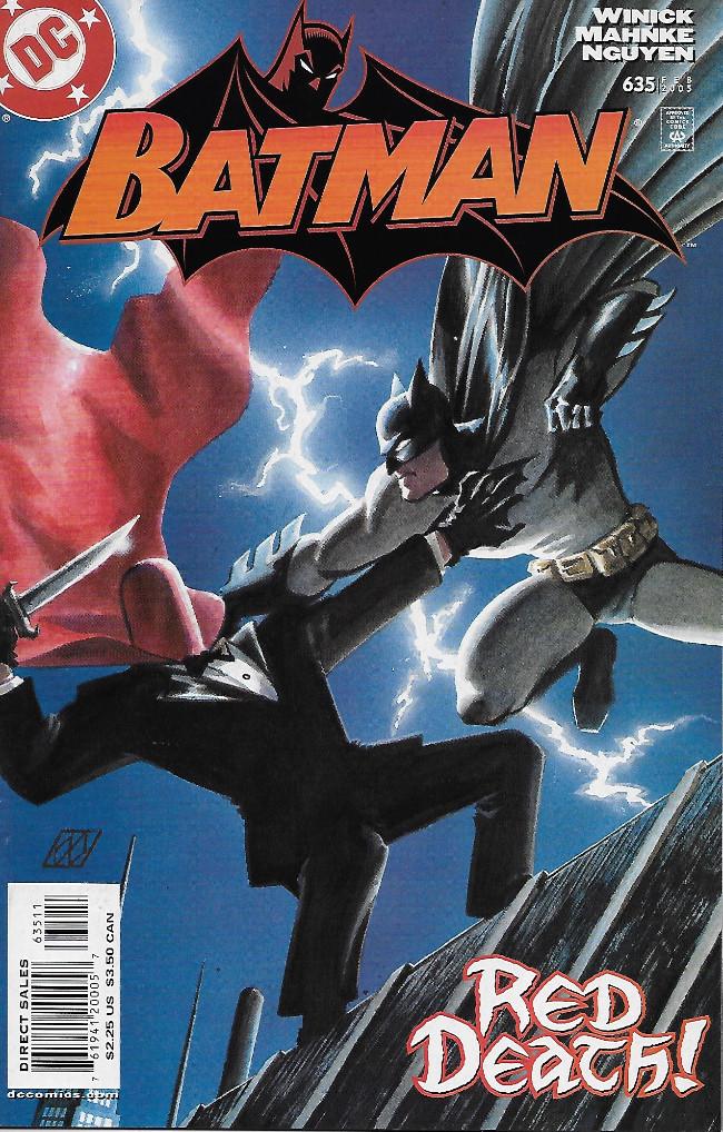 Couverture de Batman (1940) -635- Under The Hood, Part 1: New Business