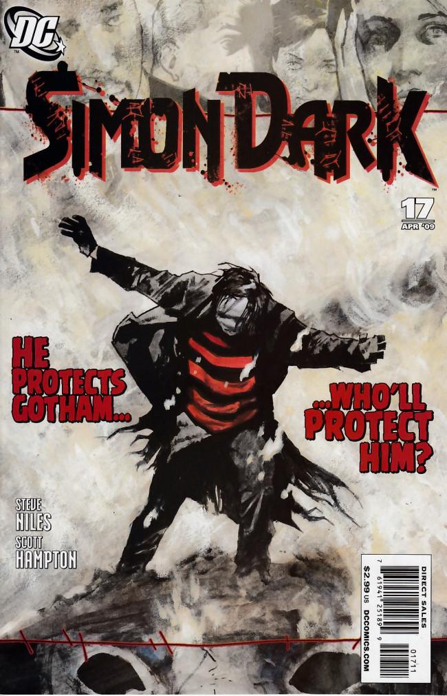 Couverture de Simon Dark (2007) -17- Rock, Paper, Scissors