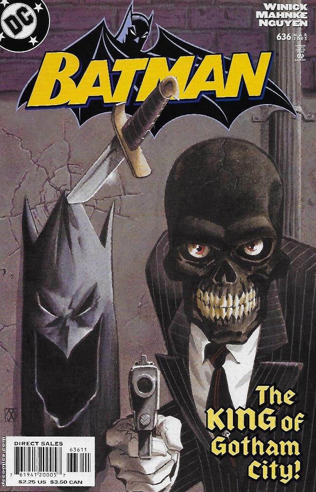 Couverture de Batman (1940) -636- Under The Hood, Part 2: First Strike