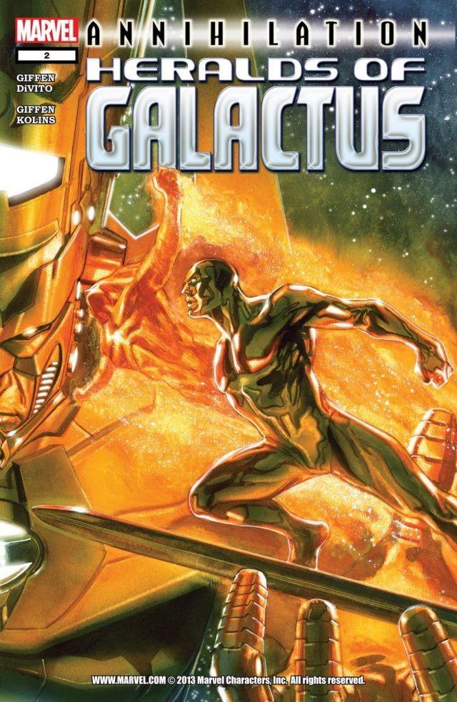 Couverture de Annihilation Heralds of Galactus -2- Issue 2