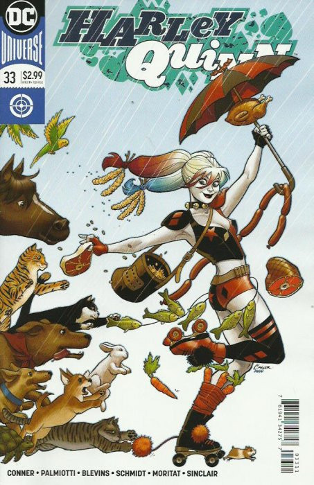 Couverture de Harley Quinn: Rebirth (2016) -33- The Mourning After