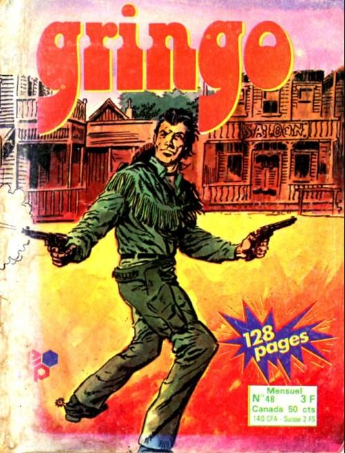 Couverture de Gringo (Edi Europ) -48- Johnny flame 7ème épisode
