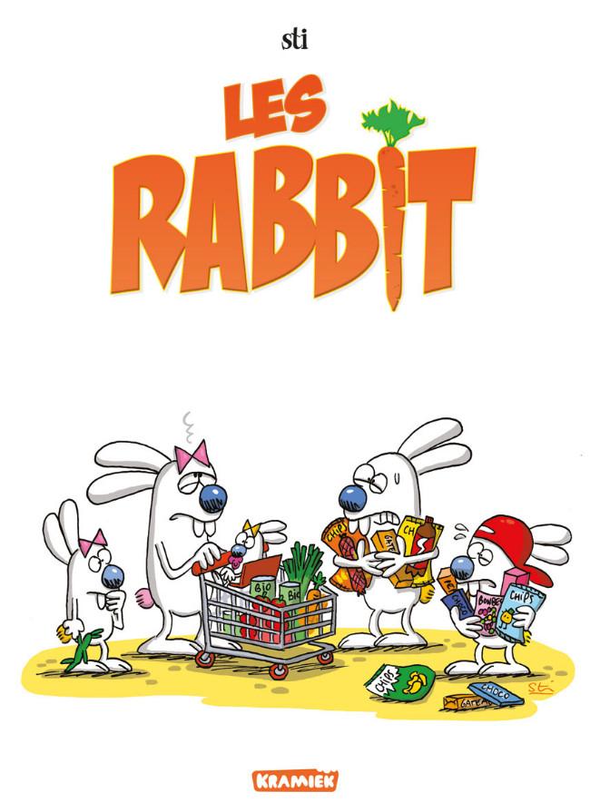 Couverture de Les rabbit -INT- Intégrale