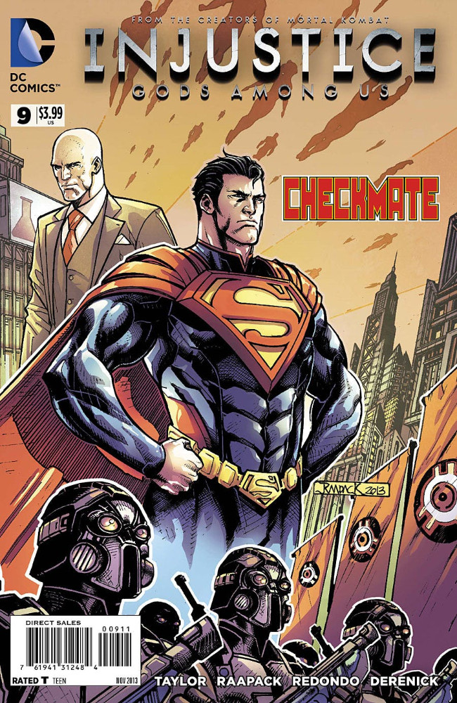 Couverture de Injustice: Gods Among Us (2013) -9- Checkmate