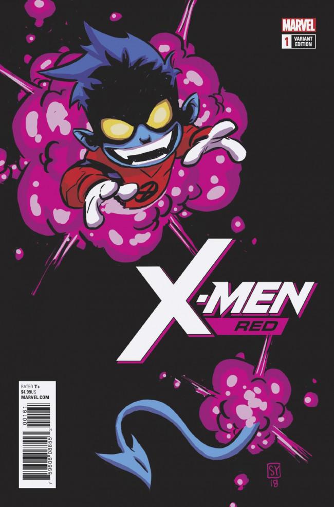 Couverture de X-Men: Red (2018) -1B- The Hate Machine Part 1: Heal the World