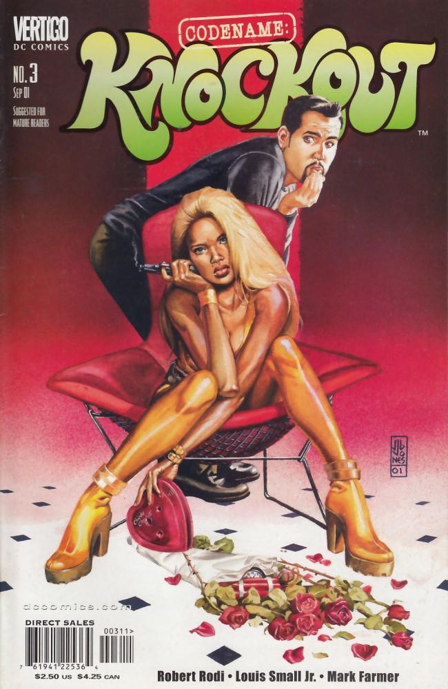 Couverture de Codename: Knockout (2001) -3- THe devil you said epilogue