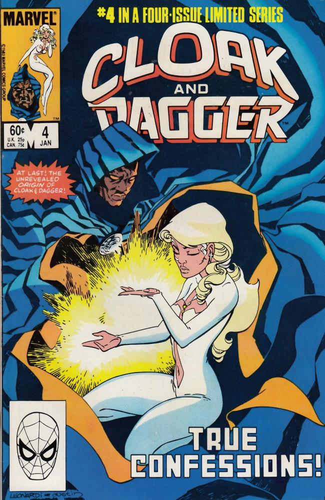Couverture de Cloak and dagger (1983) -4- True confessions