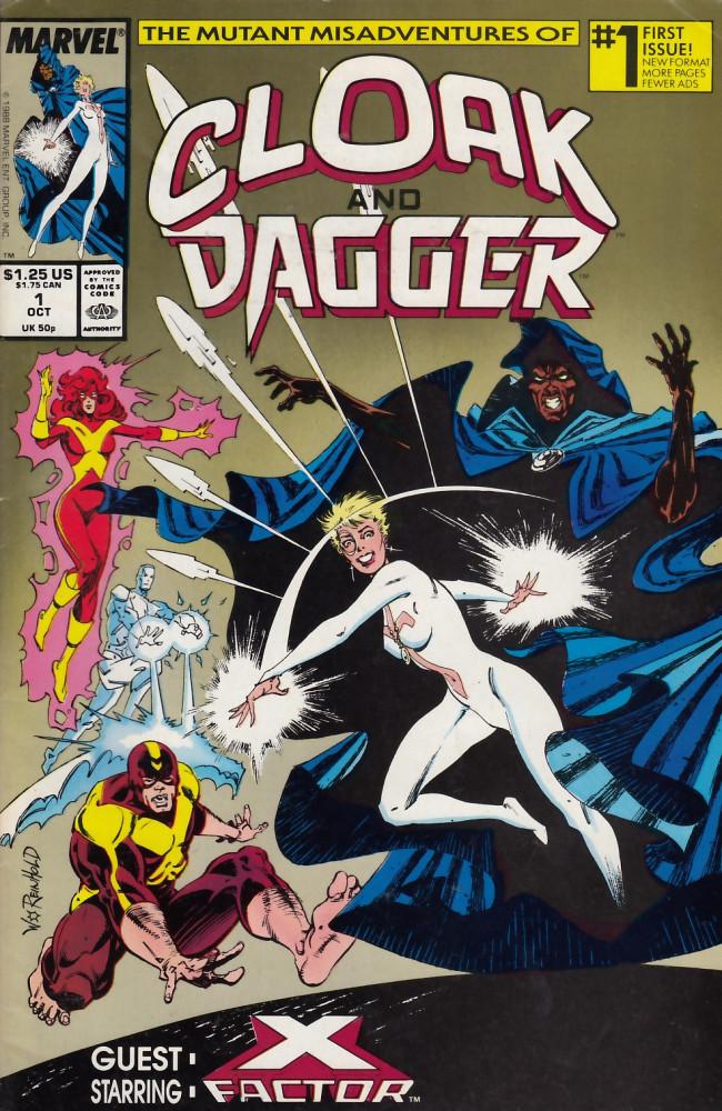 Couverture de Cloak and Dagger (The mutant misadventures of) (1988) -1- Blind salvation
