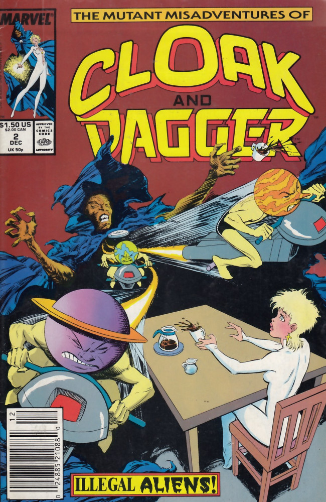 Couverture de Cloak and Dagger (The mutant misadventures of) (1988) -2- Straying from the path