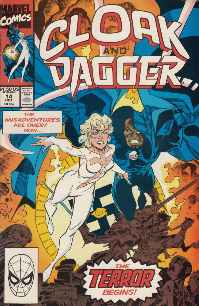 Couverture de Cloak and Dagger (The mutant misadventures of) (1988) -14- Eyes and fire
