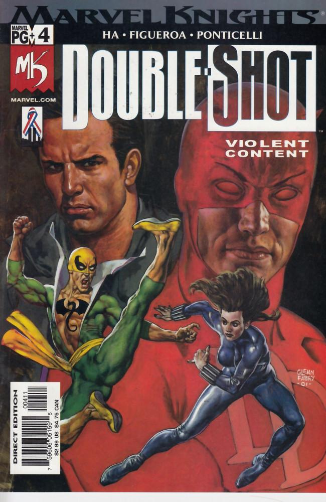 Couverture de Marvel knights double shot (2002) -4- Marvel knights double shot #4