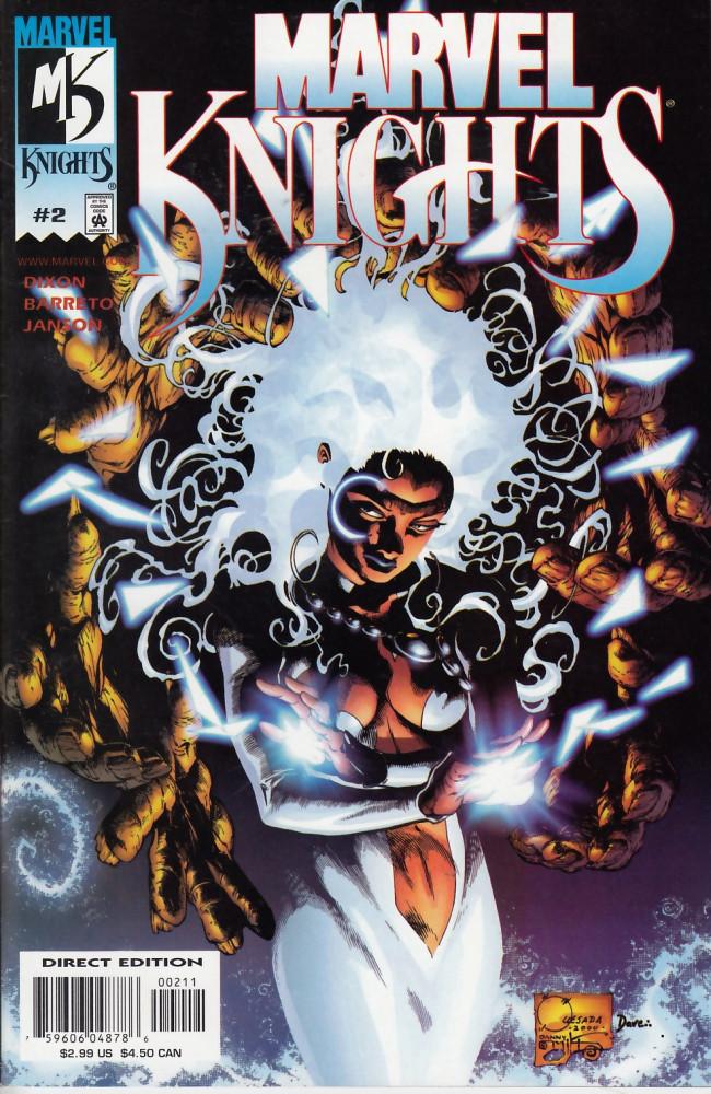 Couverture de Marvel Knights (2000) -2- Thunder below