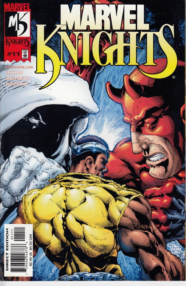 Couverture de Marvel Knights (2000) -11- Hero for hire