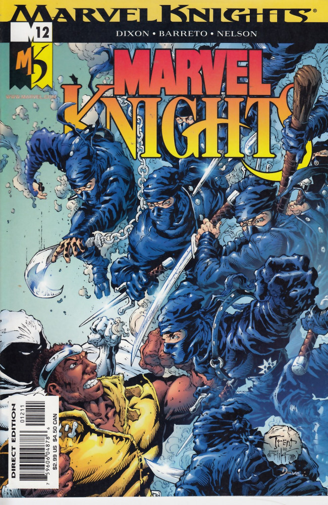 Couverture de Marvel Knights (2000) -12- The long, long night