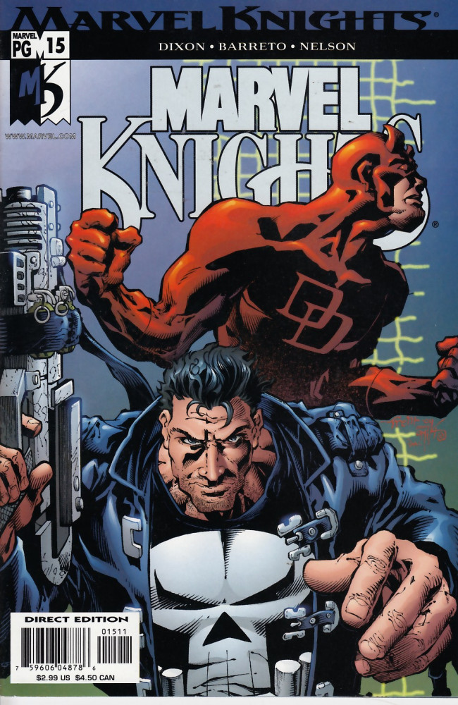Couverture de Marvel Knights (2000) -15- The unreal world