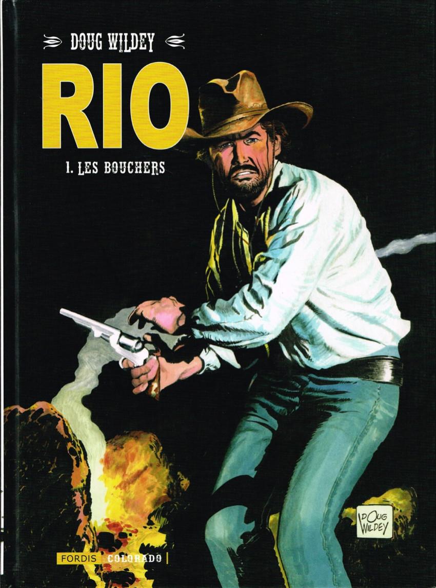 Couverture de Rio (Wildey) -1- Les bouchers