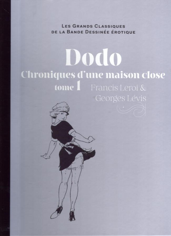 Couverture de Les grands Classiques de la Bande Dessinée érotique - La Collection -4870- Dodo Chronique d'une maison close - tome 1