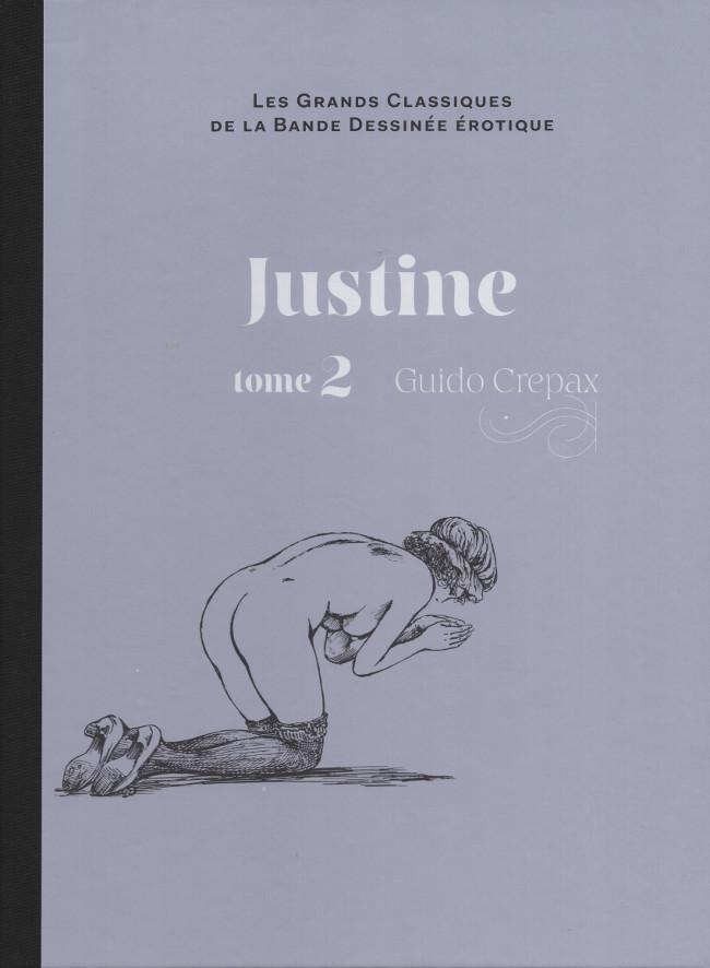 Couverture de Les grands Classiques de la Bande Dessinée érotique - La Collection -4965- Justine - Tome 2