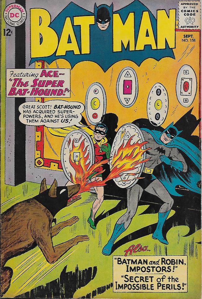 Couverture de Batman Vol.1 (DC Comics - 1940) -158-