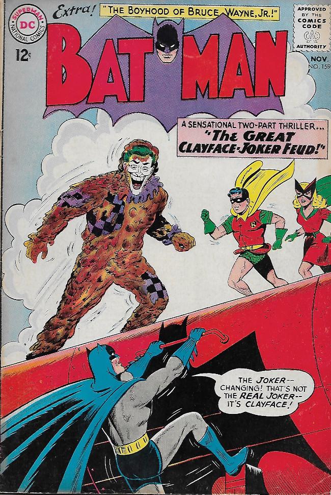Couverture de Batman (1940) -159-