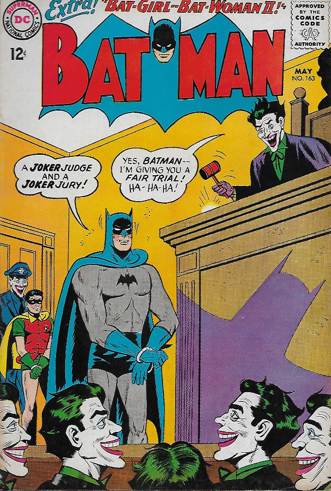 Couverture de Batman (1940) -163-