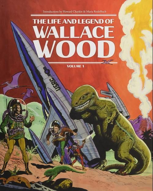 Couverture de (AUT) Wood, Wallace (en anglais) - The life and legend of wallace wood volume 1