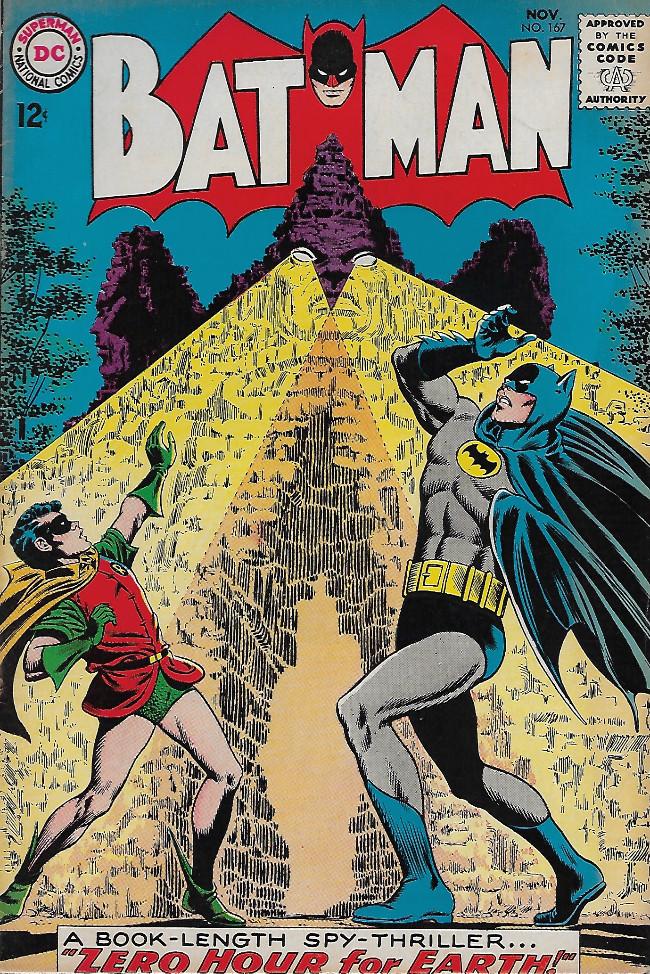 Couverture de Batman Vol.1 (DC Comics - 1940) -167-