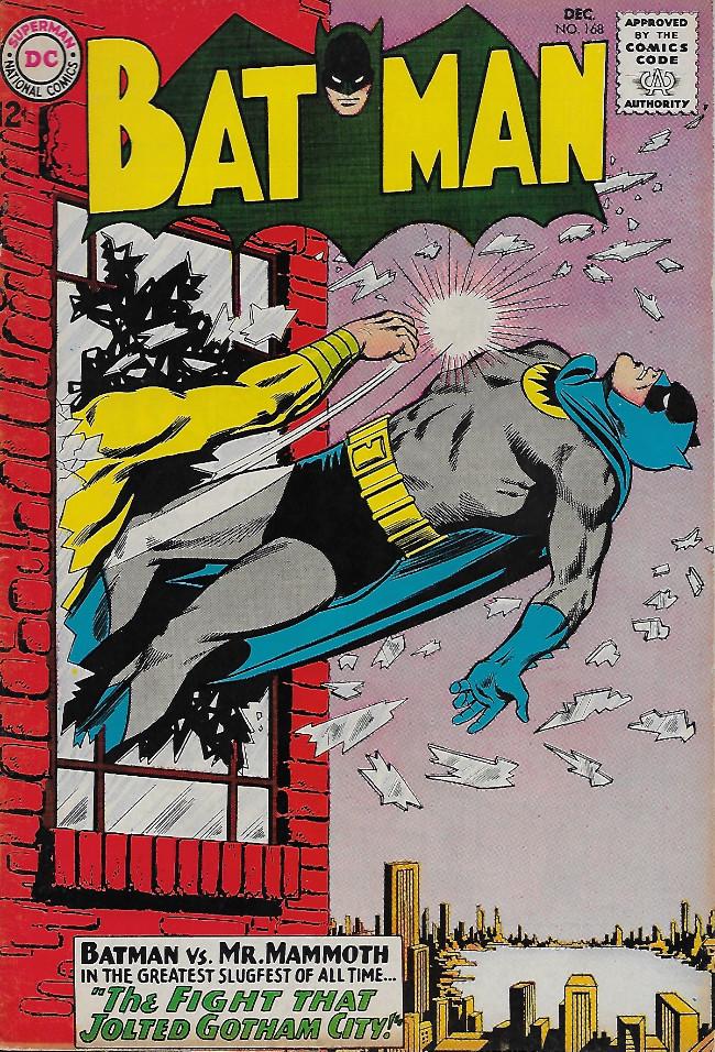 Couverture de Batman Vol.1 (DC Comics - 1940) -168-