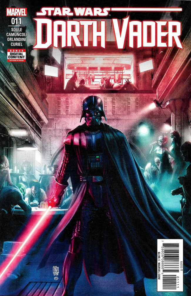 Couverture de Darth Vader (2017) -11- The Rule Of Five Part I
