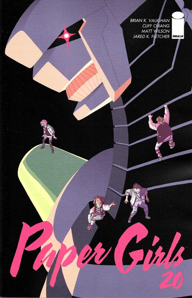 Couverture de Paper Girls (Image comics - 2015) -20- Paper Girls